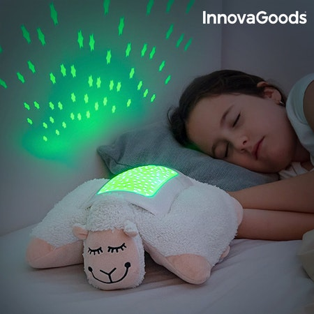InnovaGoods Kramgott Får med LED-Projektor