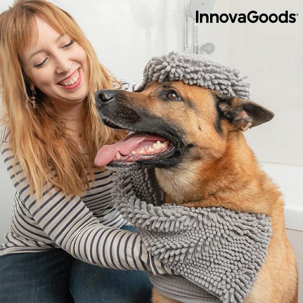 Ultra absorberande handduk för husdjur InnovaGoods