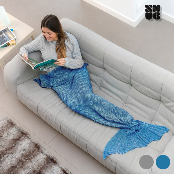 Filt Sjöjungfru Snug Snug One Mermaid