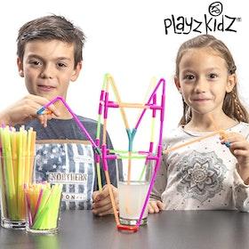 Sugrörsspel Playz Kidz (194 delar)