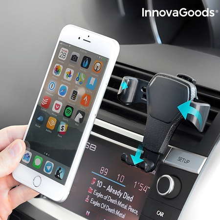 InnovaGoods Gravity Car Phone Holder