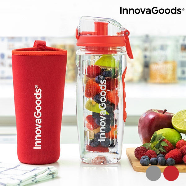 InnovaGoods Infruitssion Fruit Infuser Water Bottle