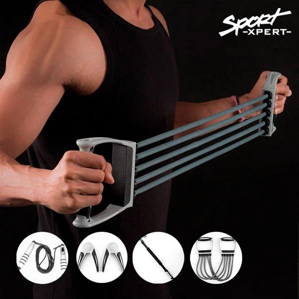 Set med fitnesstillbehör (5 delar)