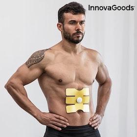 Platta för elektrostimulering av magmuskler InnovaGoods
