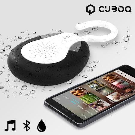 Högtalare Bluetooth Waterproof CuboQ Shower
