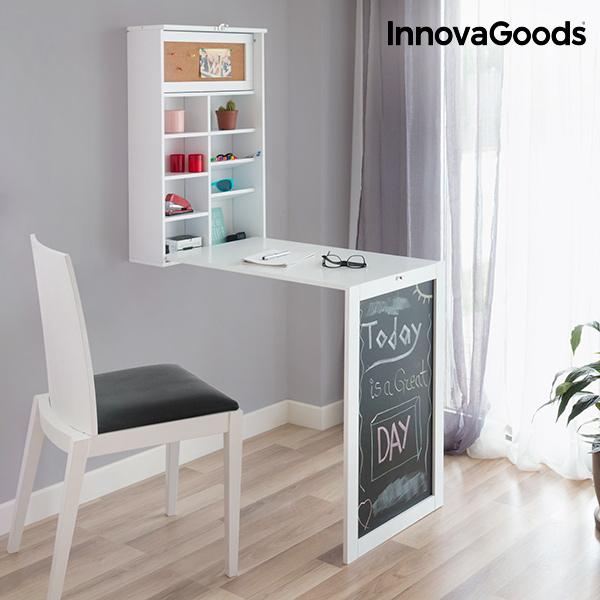 Hopfällbart väggskrivbord InnovaGoods