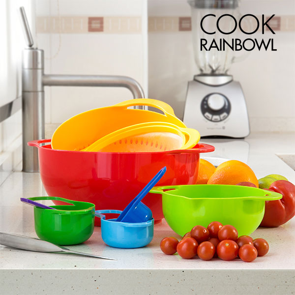 Köksgeråd Cook Rainbowl