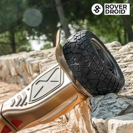 Elektrisk skoter Hoverboard Bluetooth med högtalare Rover Droid Stor 190