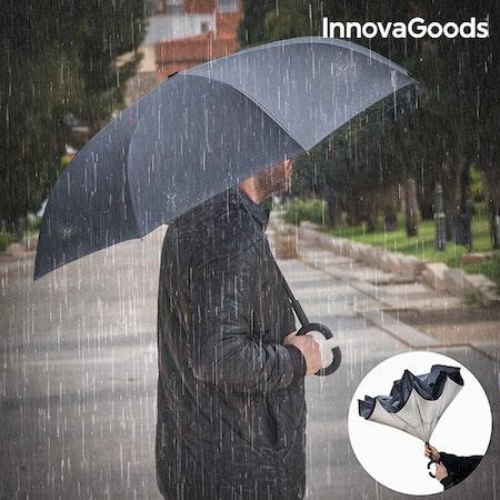 Paraply med omvänd stängning InnovaGoods