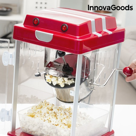 InnovaGoods Tasty Pop Times Röd Läcker Popcornmaskin 310W