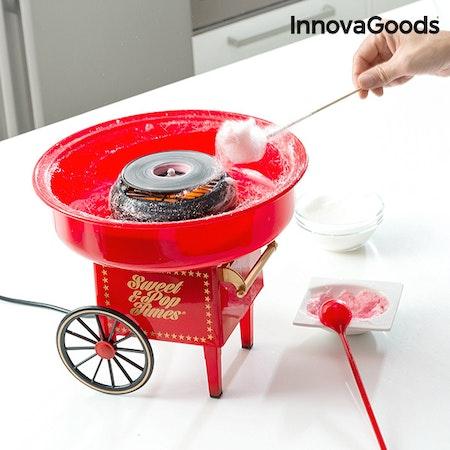 Sockervaddsmaskin InnovaGoods 500W Röd