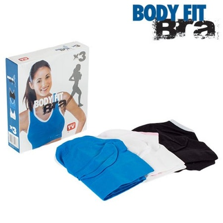 Sport behå Body Fit Bra (3 st)