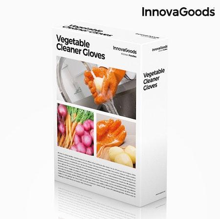 Skrubbhandskar för frukt och grönsaker InnovaGoods