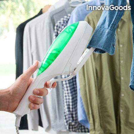 Vertikalt ångstrykjärn InnovaGoods 1000W Grönvitt
