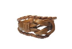 Läderarmband med knut