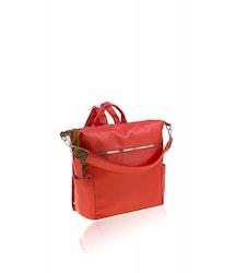 Ryggsäck i rött