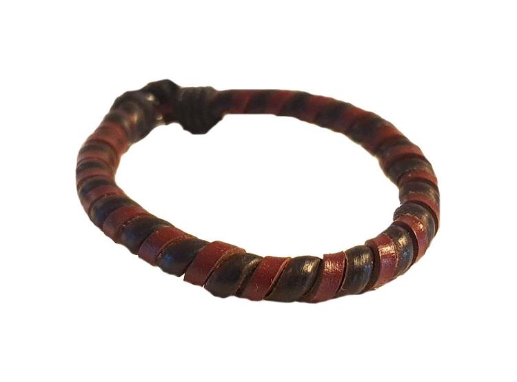 Tvåfärgat armband