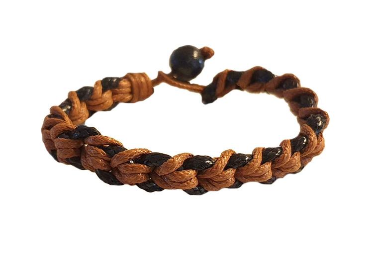 2-färgat armband