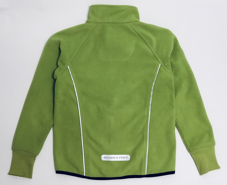 Polarn & Pyret vindfleece jacka Grön