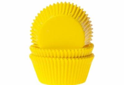 Muffinsform - gul