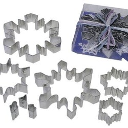 Snöflinga - set 5 + 3 delar