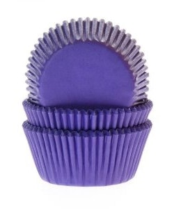 Muffinsform - purpurlila