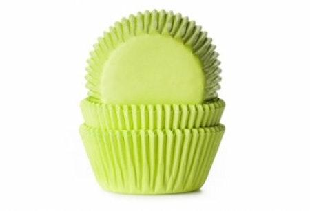 Muffinsform - limegrön