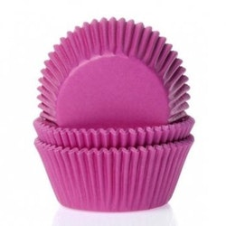 Muffinsform - hot pink