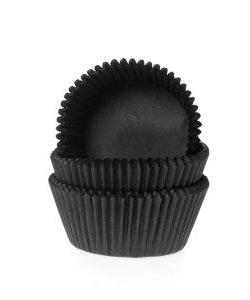Mini muffinsform, svart