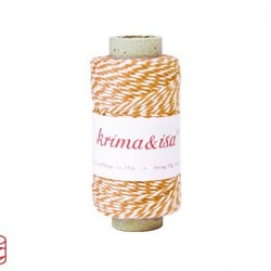 Bakers Twine - orange, 30 m