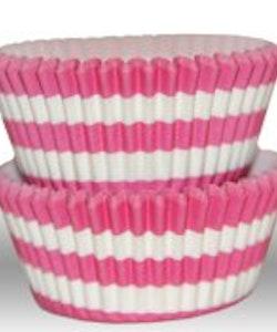 Muffinsform - cirkel, rosa