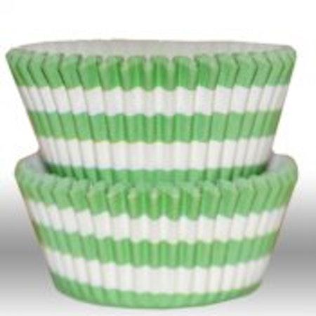 Muffinsform - cirkel, grön