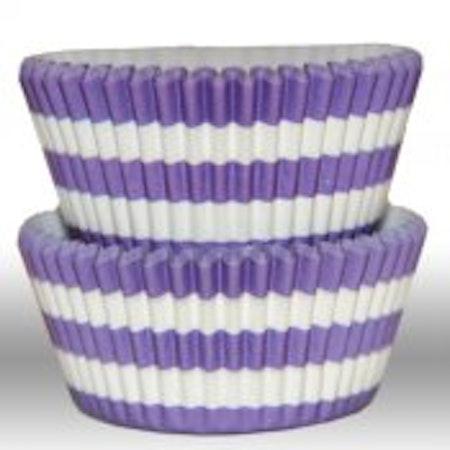 Muffinsform - cirkel, lila