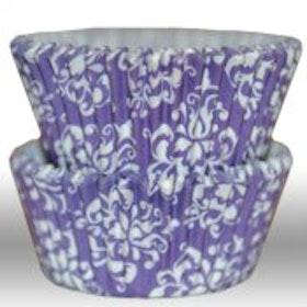 Muffinsform - Damask purple