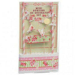 Tårtdekoration - Paisley Rose set