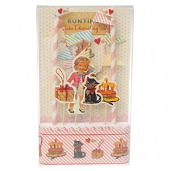 Dress up dolly cake bunting set