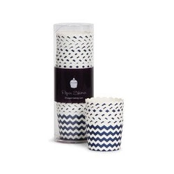 Bakform  navy blue chewron - Paper Eskimo