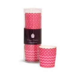 Bakform berry pink chewron - Paper Eskimo
