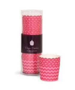 Bakform berry pink chewron - Paper Eskimo