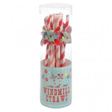 Carnival Time - windmill straws