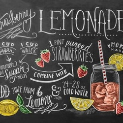 Print - Strawberry Lemonade Recipe