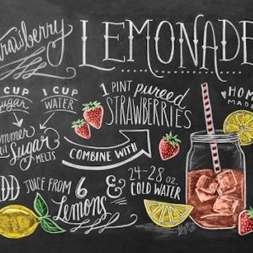 Print - Strawberry Lemonade Recipe