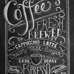 Print - Coffee Lovers, Fresch Brewed