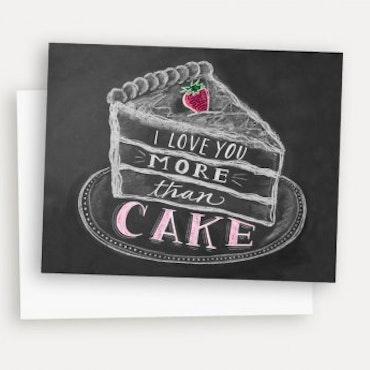 Kort - I Love You More Than Cake