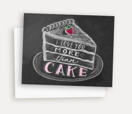 Kort - I Love You More Than Cake