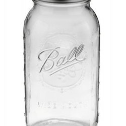 Ball Mason Jar - Half Gallon Widemouth 64 oz