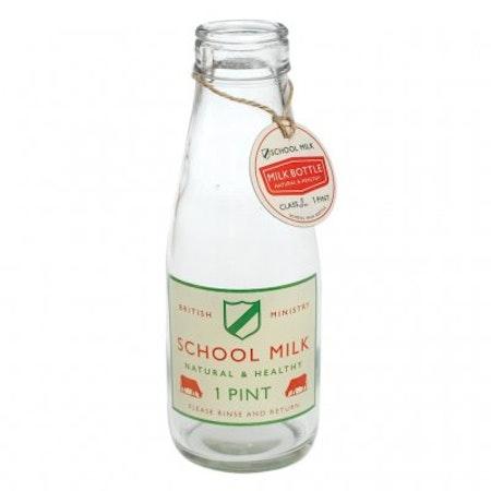 School Milk bottle - 1 pint