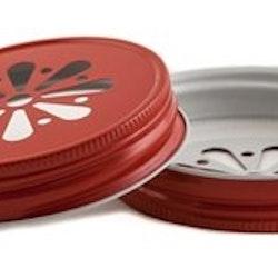 Regular Daisy lid - röd