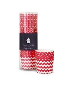 Bakform red chevron - Paper Eskimo