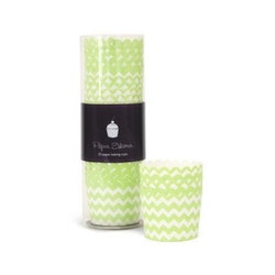Bakform  apple green chevron - Paper Eskimo